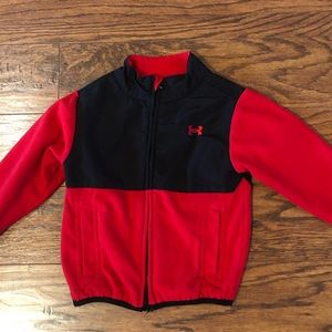 Under Armour Jacket Red and Black